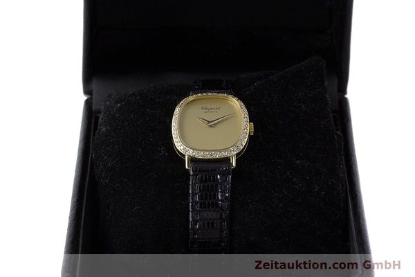 Used luxury watch Chopard * 18 ct gold manual winding Kal. 846 Ref. 5091  | 161314 07