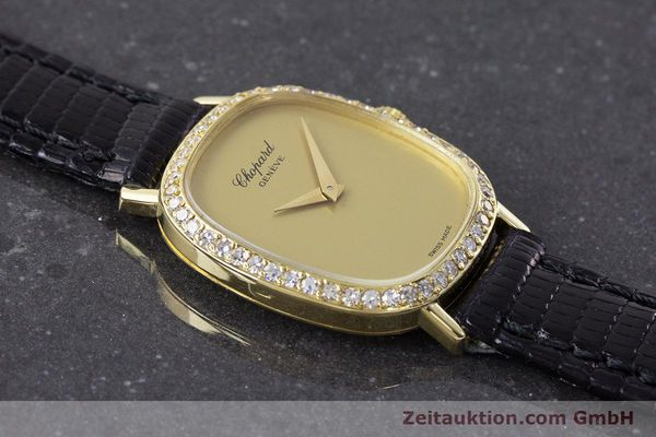 Used luxury watch Chopard * 18 ct gold manual winding Kal. 846 Ref. 5091  | 161314 13