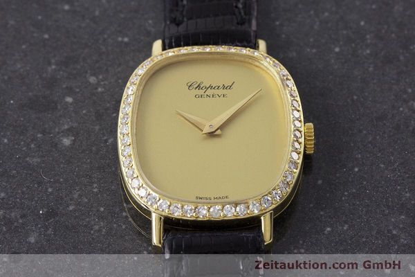 Used luxury watch Chopard * 18 ct gold manual winding Kal. 846 Ref. 5091  | 161314 14