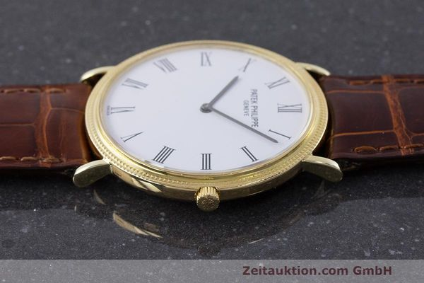 Used luxury watch Patek Philippe Calatrava 18 ct gold manual winding Kal. 175 Ref. 3520 10  | 161315 05