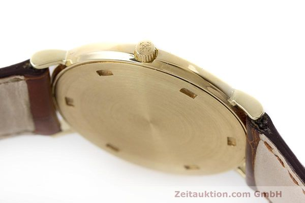 Used luxury watch Patek Philippe Calatrava 18 ct gold manual winding Kal. 175 Ref. 3520 10  | 161315 12