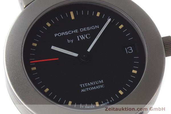 Used luxury watch IWC Porsche Design titanium automatic Kal. 37524 Ref. 3520  | 161317 02
