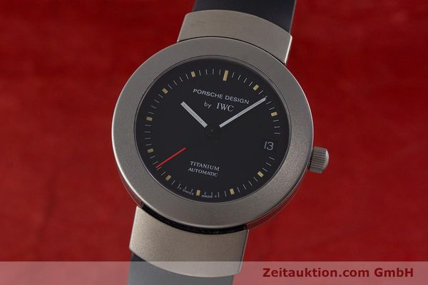 Used luxury watch IWC Porsche Design titanium automatic Kal. 37524 Ref. 3520  | 161317 04