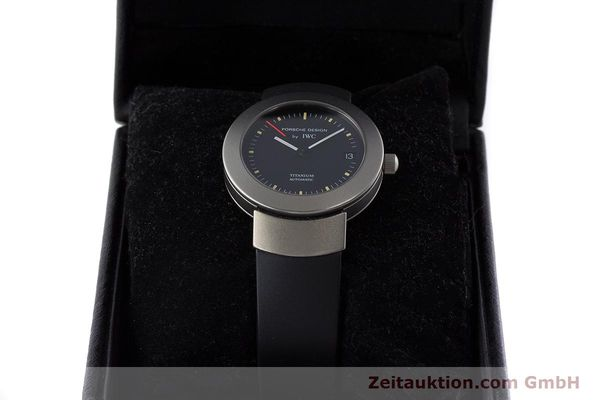 Used luxury watch IWC Porsche Design titanium automatic Kal. 37524 Ref. 3520  | 161317 07