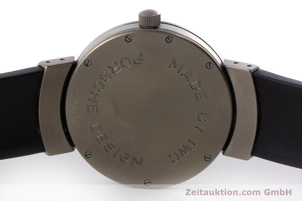 Used luxury watch IWC Porsche Design titanium automatic Kal. 37524 Ref. 3520  | 161317 08