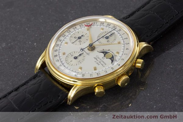 Used luxury watch Chronoswiss A. Rochat chronograph gold-plated automatic Kal. Valj.  7750 Ref. 77990  | 161318 01