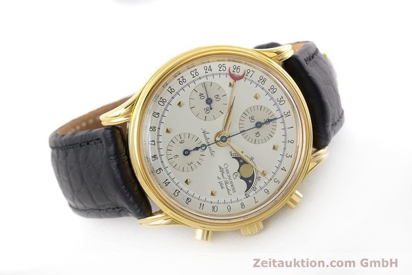 Used luxury watch Chronoswiss A. Rochat chronograph gold-plated automatic Kal. Valj.  7750 Ref. 77990  | 161318 03
