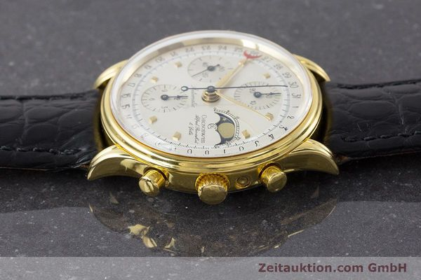 Used luxury watch Chronoswiss A. Rochat chronograph gold-plated automatic Kal. Valj.  7750 Ref. 77990  | 161318 05