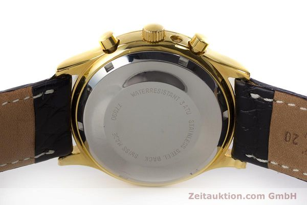 Used luxury watch Chronoswiss A. Rochat chronograph gold-plated automatic Kal. Valj.  7750 Ref. 77990  | 161318 09