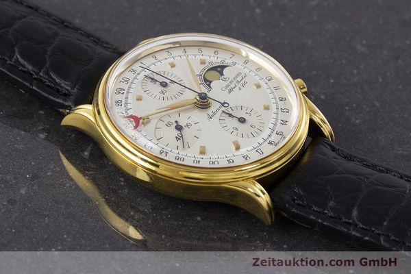 Used luxury watch Chronoswiss A. Rochat chronograph gold-plated automatic Kal. Valj.  7750 Ref. 77990  | 161318 16