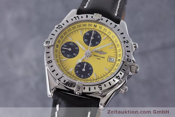 Used luxury watch Breitling Chronomat chronograph steel automatic Kal. B20 ETA 7750 Ref. A20048  | 161319 04