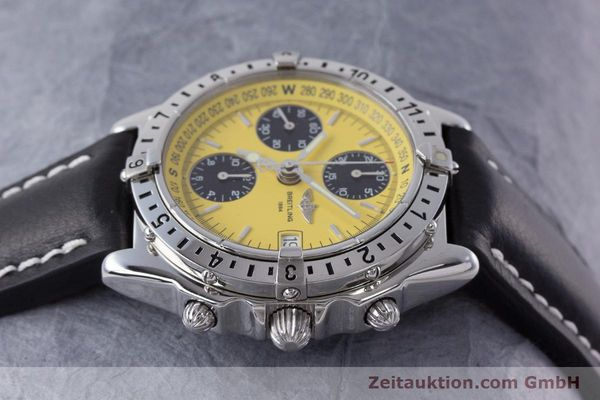 Used luxury watch Breitling Chronomat chronograph steel automatic Kal. B20 ETA 7750 Ref. A20048  | 161319 05