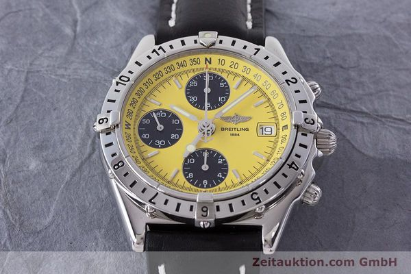 Used luxury watch Breitling Chronomat chronograph steel automatic Kal. B20 ETA 7750 Ref. A20048  | 161319 15