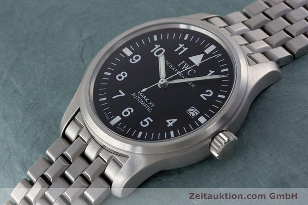 Used luxury watch IWC Fliegeruhr steel automatic Kal. 37524 Ref. 3253  | 161320 01