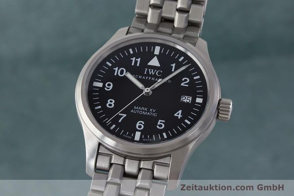 Used luxury watch IWC Fliegeruhr steel automatic Kal. 37524 Ref. 3253  | 161320 04