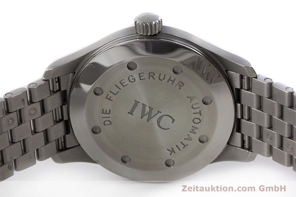 Used luxury watch IWC Fliegeruhr steel automatic Kal. 37524 Ref. 3253  | 161320 08