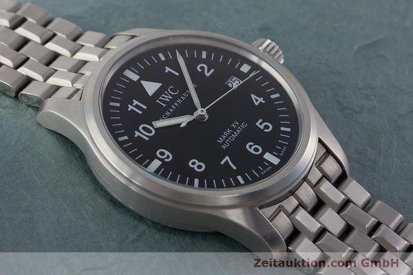 Used luxury watch IWC Fliegeruhr steel automatic Kal. 37524 Ref. 3253  | 161320 15