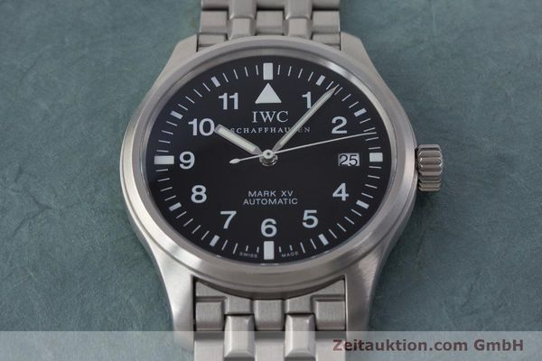 Used luxury watch IWC Fliegeruhr steel automatic Kal. 37524 Ref. 3253  | 161320 16