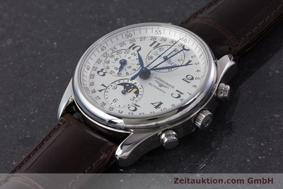 LONGINES MASTER COLLECTION CRONOGRAFO ACCIAIO AUTOMATISMO KAL. L678.2 LP: 2770EUR [161322]