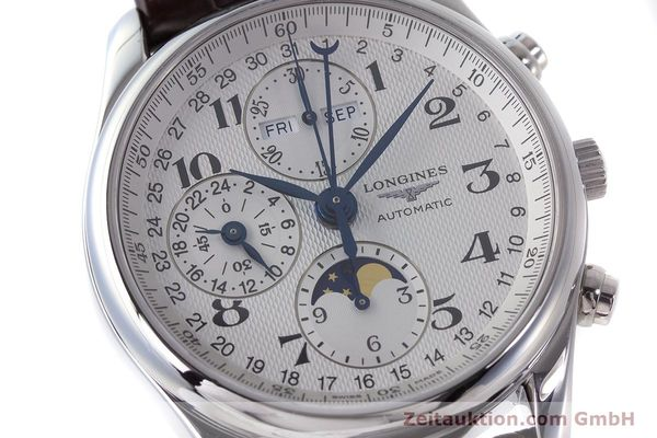 Used luxury watch Longines Master Collection chronograph steel automatic Kal. L678.2 Ref. L2.673.4  | 161322 02