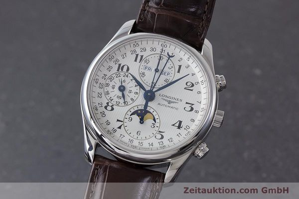 LONGINES MASTER COLLECTION KALENDER CHRONOGRAPH MONDPHASE L2.673.4 NP: 2770,- Euro [161322]