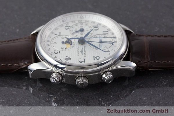 Used luxury watch Longines Master Collection chronograph steel automatic Kal. L678.2 Ref. L2.673.4  | 161322 05