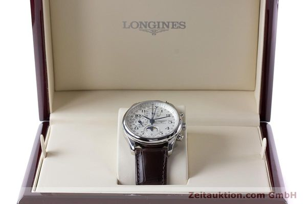 Used luxury watch Longines Master Collection chronograph steel automatic Kal. L678.2 Ref. L2.673.4  | 161322 07