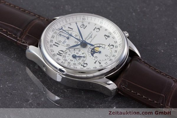 Used luxury watch Longines Master Collection chronograph steel automatic Kal. L678.2 Ref. L2.673.4  | 161322 18