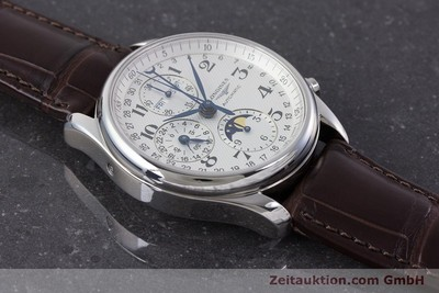 LONGINES MASTER COLLECTION CHRONOGRAPH STEEL AUTOMATIC KAL. L678.2 LP: 2770EUR [161322]