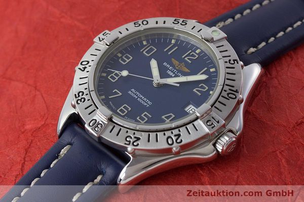 Used luxury watch Breitling Colt steel automatic Kal. B17 ETA 2824-2 Ref. A17035  | 161328 01