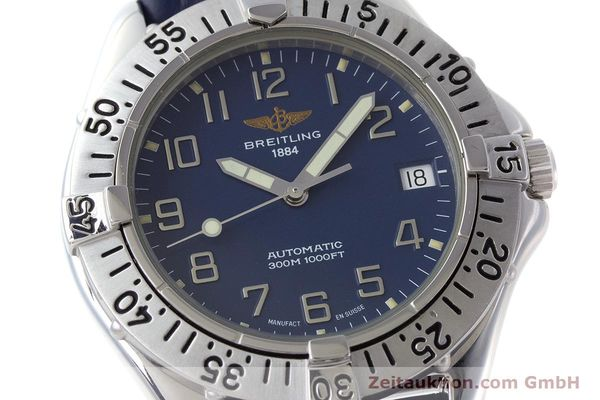 Used luxury watch Breitling Colt steel automatic Kal. B17 ETA 2824-2 Ref. A17035  | 161328 02