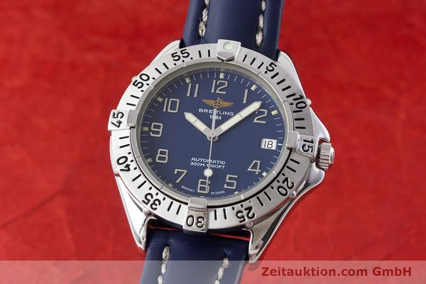 Used luxury watch Breitling Colt steel automatic Kal. B17 ETA 2824-2 Ref. A17035  | 161328 04