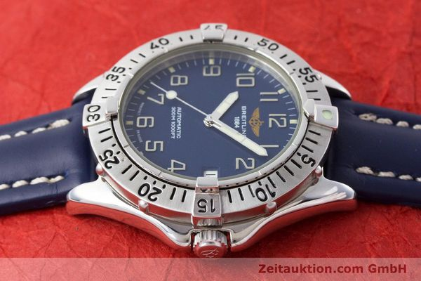 Used luxury watch Breitling Colt steel automatic Kal. B17 ETA 2824-2 Ref. A17035  | 161328 05
