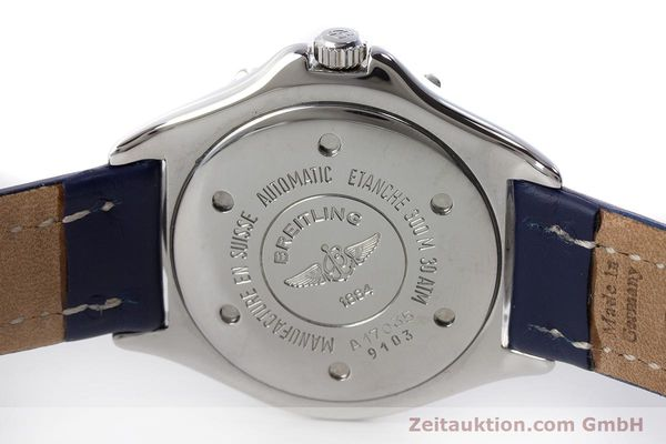 Used luxury watch Breitling Colt steel automatic Kal. B17 ETA 2824-2 Ref. A17035  | 161328 09
