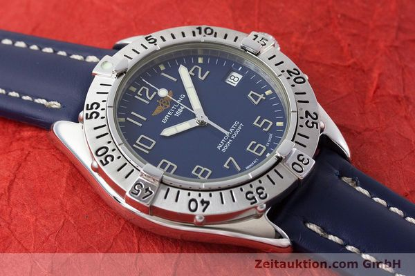 Used luxury watch Breitling Colt steel automatic Kal. B17 ETA 2824-2 Ref. A17035  | 161328 16
