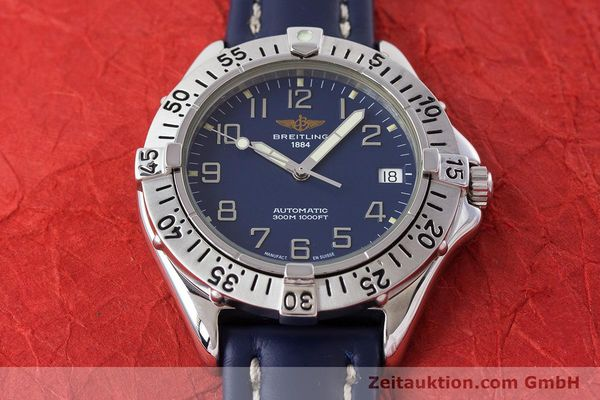 Used luxury watch Breitling Colt steel automatic Kal. B17 ETA 2824-2 Ref. A17035  | 161328 17