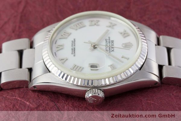 Used luxury watch Rolex Datejust steel / white gold automatic Kal. 3035 Ref. 16013  | 161329 05