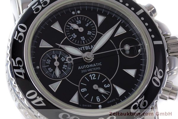 Used luxury watch Montblanc Sport Chronograph chronograph steel automatic Kal. 4810501 ETA 7750 Ref. 7034  | 161330 02