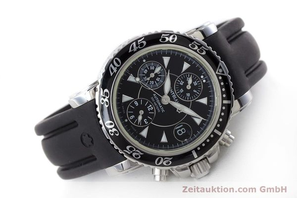 Used luxury watch Montblanc Sport Chronograph chronograph steel automatic Kal. 4810501 ETA 7750 Ref. 7034  | 161330 03