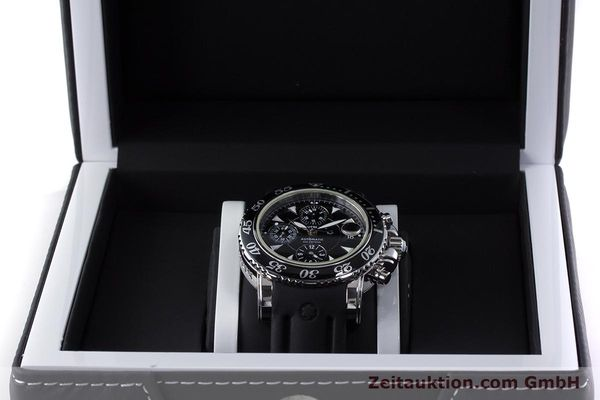 Used luxury watch Montblanc Sport Chronograph chronograph steel automatic Kal. 4810501 ETA 7750 Ref. 7034  | 161330 07