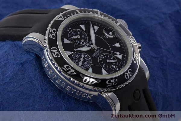 Used luxury watch Montblanc Sport Chronograph chronograph steel automatic Kal. 4810501 ETA 7750 Ref. 7034  | 161330 14
