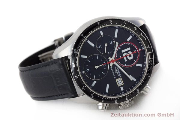 Used luxury watch Longines Grande Vitesse chronograph steel automatic Kal. L667.2 ETA 7750 Ref. L3.636.4  | 161332 03