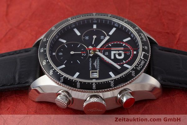 Used luxury watch Longines Grande Vitesse chronograph steel automatic Kal. L667.2 ETA 7750 Ref. L3.636.4  | 161332 05
