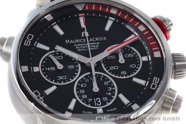 Used luxury watch Maurice Lacroix Pontos chronograph steel automatic Kal. ML157 ETA 7753 Ref. PT6019  | 161336 02
