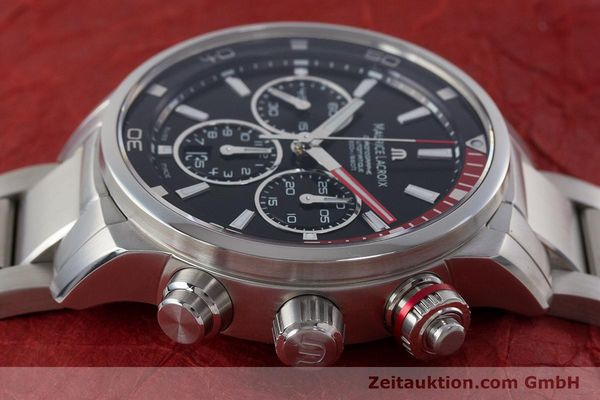 Used luxury watch Maurice Lacroix Pontos chronograph steel automatic Kal. ML157 ETA 7753 Ref. PT6019  | 161336 05