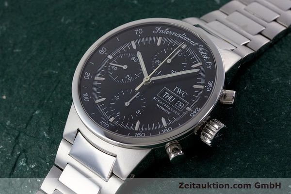 Used luxury watch IWC GST chronograph steel automatic Kal. 7922 Ref. 3707  | 161338 01