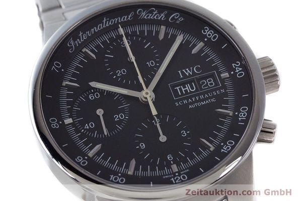 Used luxury watch IWC GST chronograph steel automatic Kal. 7922 Ref. 3707  | 161338 02