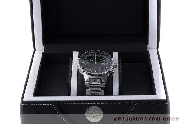 Used luxury watch IWC GST chronograph steel automatic Kal. 7922 Ref. 3707  | 161338 07