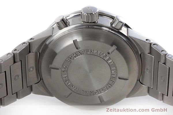 Used luxury watch IWC GST chronograph steel automatic Kal. 7922 Ref. 3707  | 161338 08