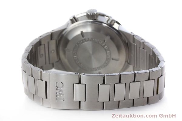 Used luxury watch IWC GST chronograph steel automatic Kal. 7922 Ref. 3707  | 161338 12